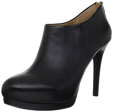 Nine West Women's Haywire Bootie,Black Leather,9.5 M US
