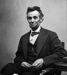 Abraham Lincoln, Seated Portrait by Alexander Gardner, Created February 5, 1865 - Photographic Print from the Library of Congress Collection