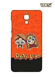 VDESI Designer Matte Back Cover For Xiaomi Mi 4 -21540066