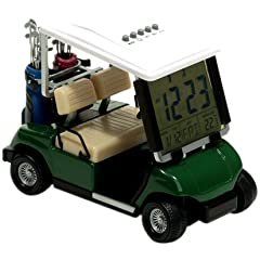 Buy ProActive Sports Golf Cart Clock, Green (1:18 Scale) by ProActive