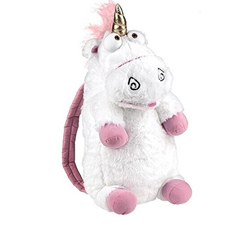 GRHOSE-Universal-Despicable-Me-3D-Ride-Agnes-Fluffy-Unicorn-Plush-Backpack