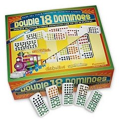 Double 18 Premium Edition Dominoes
