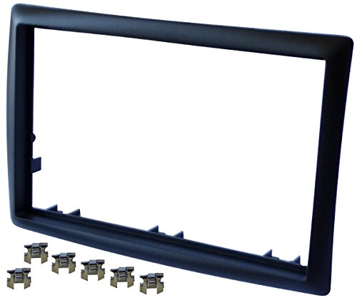 AERZETIX-Adaptateur-Autoradio-Faade-Cadre-Rducteur-noir-pour-auto-voiture