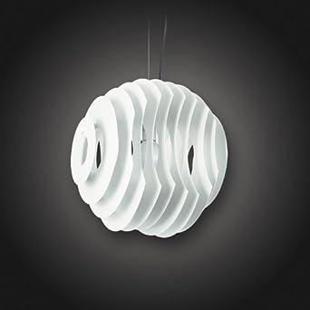 Deckenlampe Deckenleuchte Hängeleuchte Pendelleuchte Retro Style Lampe leuchte Matt Weiß von Design61