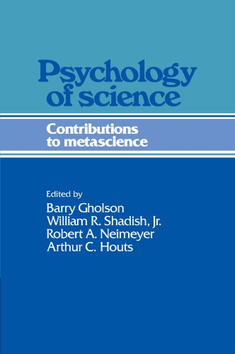Psychology of Science: Contributions to Metascience