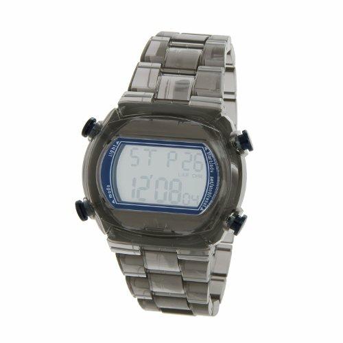 Adidas Unisex 43mm Clear and Blue Candy Digital Watch Adh6509