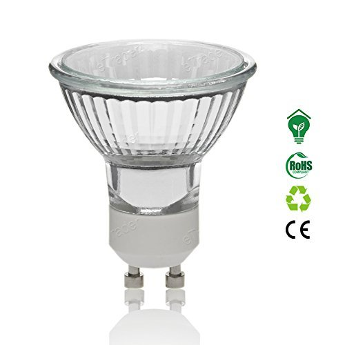 1Pack-Lange Lebensdauer GU1035W dimmbar Halogen Lampe warm weiß Lampe