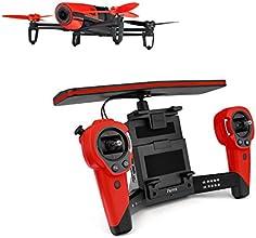 Parrot BeBop Drone avec Skycontroller Rouge pour Smartphone/Tablette