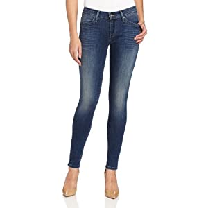 Levi's Women's Mid Rise Legging Jean, Original Fade, 6 Medium