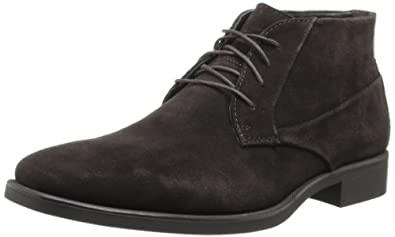 Calvin Klein Men's Ellias Boot,Dark Brown,11.5 M US