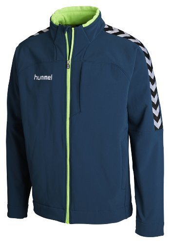 Hummel - Giacca Softshell Stay Authentic, Bambino, Blu (Legion Blue), 6-8(116-128)