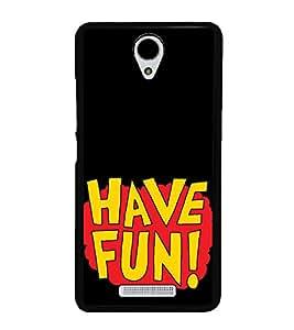 Have Fun 2D Hard Polycarbonate Designer Back Case Cover for Xiaomi Redmi Note 2 :: Redmi Note 2 Prime