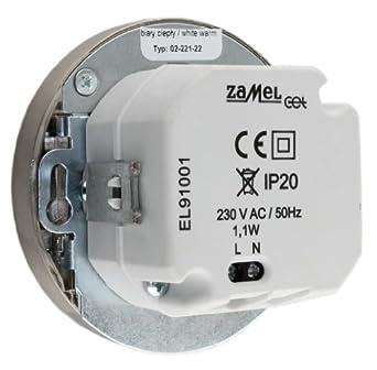 LED-Einbauleuchte MUNA Edelstahl als Wandleuchte oder Treppenlicht ...