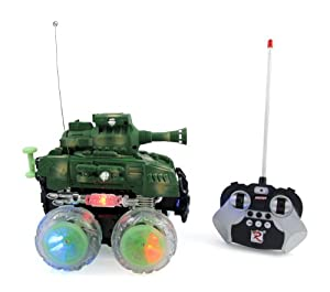 Amazon.com: RC Stunt Tank Remote Control Military Battle Tank that