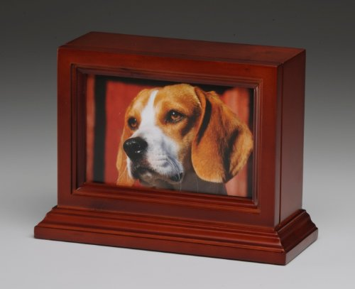 Pet Urn Dog Cat Animal Cremation Urn Photo Frame With Glass Front