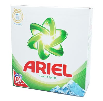 Ariel Mountain Spring Compact 60 Wash Washing Powder