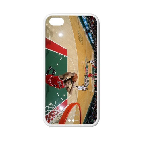 Chicago Bulls Derrick Rose plastic hard case skin cover for iPhone 5C AB638667 at Amazon.com