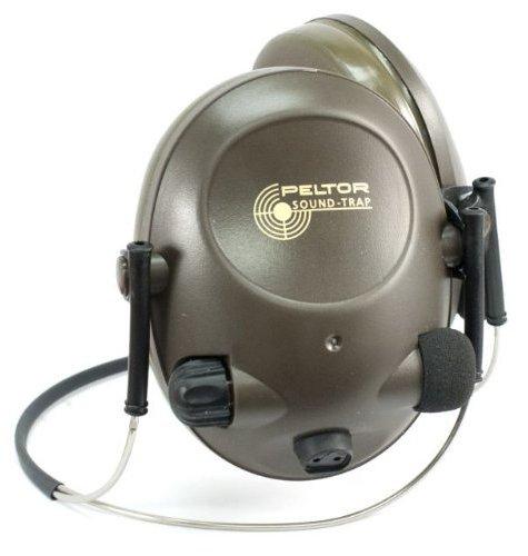 3M Peltor Slimline Mt15H67Bb Electronic Headset Neckband Style, Green