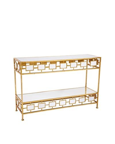 Gianna Console Table, Gold