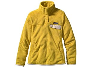 Patagonia Re-Tool Snap-T Fleece Jacket - Women's, Goldenrod - Electric Yellow X-Dye, S