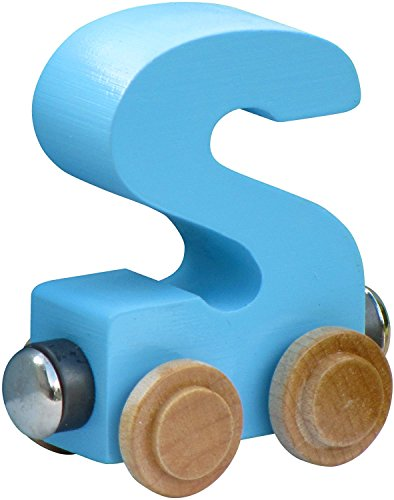 NameTrain Pastel Finish Letter Cars - S - 1