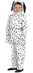 Girls Boys Dalmatian Dalmation Spotty Dog Animal Book Day Fancy Dress Costume Outfit 4-10 years