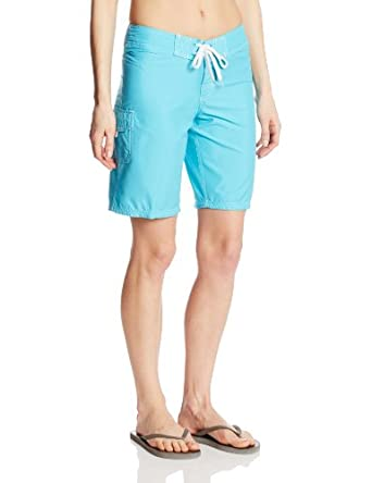 Kanu Surf Women's Marina Board Shorts, Aqua, 0
