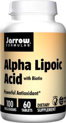 海外直送品Alpha Lipoic Acid, 102 mg, 60 Tabs by Jarrow Formulas