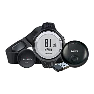 Suunto M5 GPS Pack, Black Band, Silver Face SS016822000 by Suunto