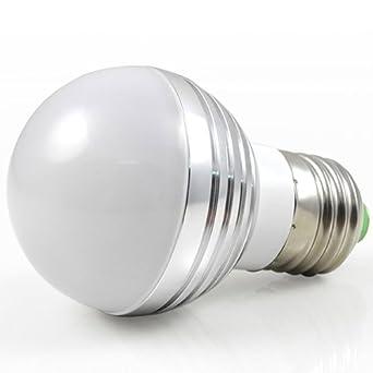 mengs e27 3w led rgb licht birne smd leds led farbwechsel lampe leuchtmittel mit ir. Black Bedroom Furniture Sets. Home Design Ideas
