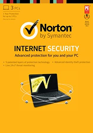 Norton Internet Security 2013 - 1 User / 3 PC  [Download]