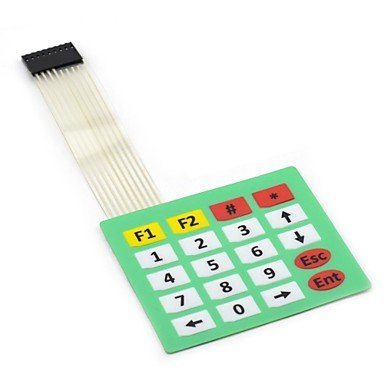 Zcl Maitech 03120256 4 X 5 Matrix Keyboard / Membrane Switch