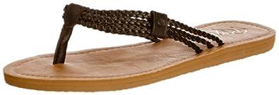 Rip Curl Womens IVY Thong Sandals TGTAF1 Coffee/Tan 3.5 UK, 36 EU