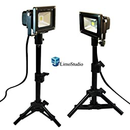 LimoStudio Portable LED Photography Table Top Photo Studio Light Kit, AGG1083