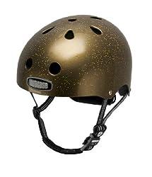 Nutcase Gold Sparkle Bike Helmet from Nutcase