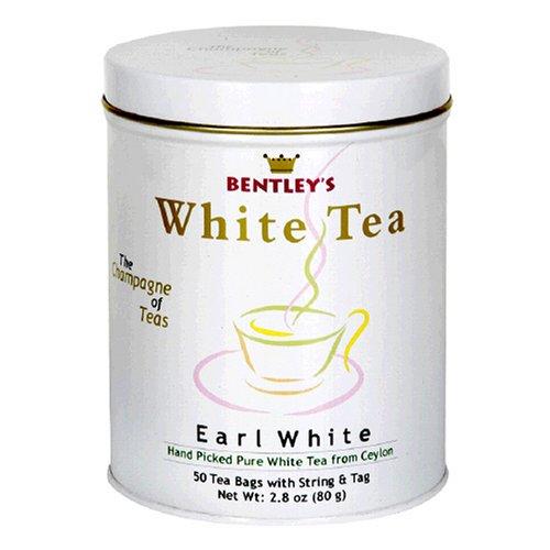 Buy Bentley's Earl Grey White Tea, 50 Tea Bag Tin (Pack of 2) (Bentley's, Health & Personal Care, Products, Food & Snacks, Beverages, Tea, White Teas)