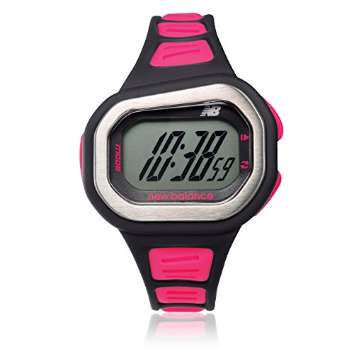 new balance Men's Running Watch (Black × Pink) ST-500-002
