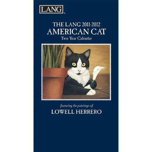 American Cat by Lowell Herrero 2011 Lang Two Year Calendar