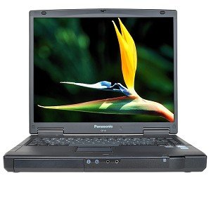 "Panasonic Toughbook CF-51 Core Duo T2500 2.0GHz 2GB 80GB CDRW/DVD 15"" XP Professional w/9-Cell Battery"