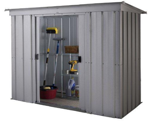 yardmaster international 64pz 6 x 4 ft store all silber. Black Bedroom Furniture Sets. Home Design Ideas