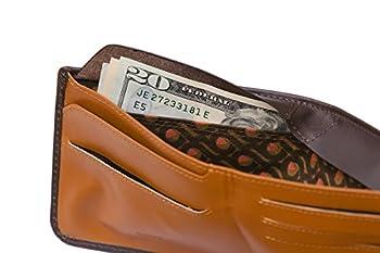 20.Bellroy Men's Leather Hide & Seek Wallet