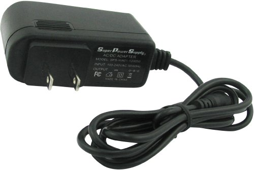Super Power Supply® AC / DC Adapter Charger Cord for Bayco Nsr-2300 Nsr-2372 Nsr-2382 Nsr-2392 Nsr-2400 Nsr-2472 Nsr-2482 Nsr-2492 Nsr-9900 Nsr-9912 Nsr-9912dc Nsr-9914 Nsr-9914dc Slr-2134 Slr-2166 Night Stick Rechargeable Worklight Led Tactical Flashlight Floodlight Dual-light Wall Barrel Plug