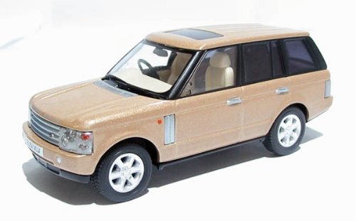 corgi 50th anniversary 2002 range rover vogue TD6 white gold 1.43 scale limited edition diecast model
