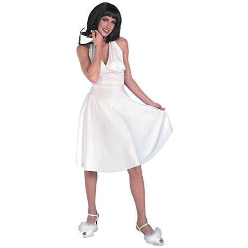 [GSG Hollywood Starlet Costume Adult Dress Halloween Fancy Dress] (Hollywood Starlet Dress Costumes)