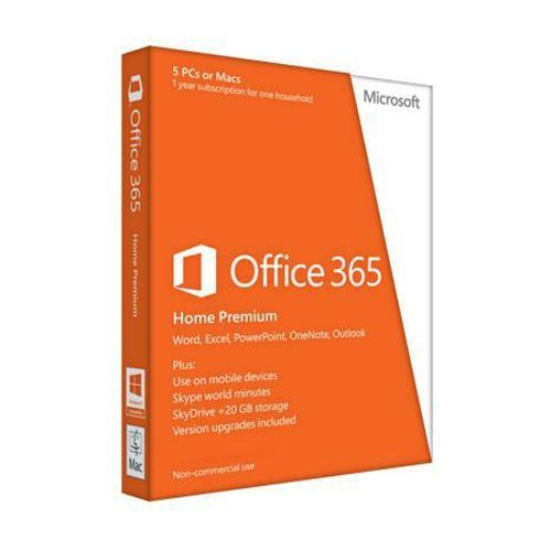 Office 365 Home Premium 1 year subscription English (PC Key Card)