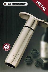 Le Creuset Screwpull Wine Vacuum Pump by Screwpull