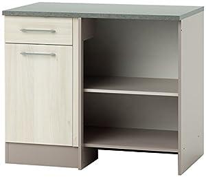 Demeyere 337989 chef angle meuble bas de cuisine panneau for Panneau meuble cuisine