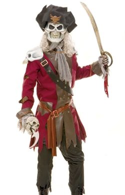 Paper Magic Men's Captain Hook Costume