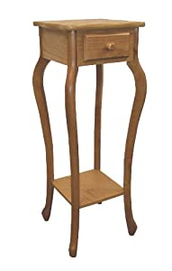 ORE International H-39 Plant Stand, Oak