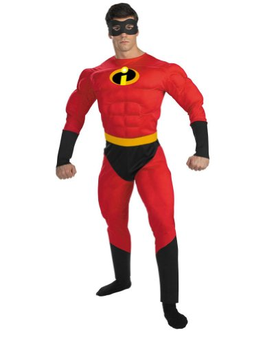 Mr Incredible Muscle Adult Adult Mens Costume